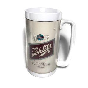 Vintage Schlitz Plastic Beer Mug Milwaukee Famous